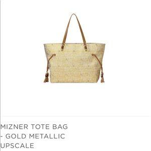 Lilly Pulitzer Mizner Metalli Classic Tote Bag